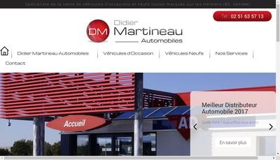 Site internet de Garage Martineau