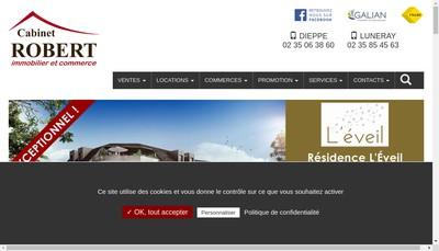 Site internet de Citya Cabinet Robert
