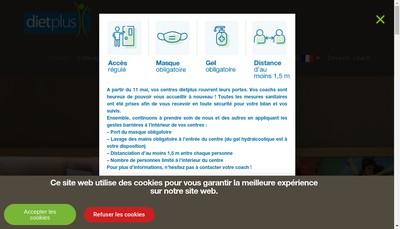 Site internet de Dietplus