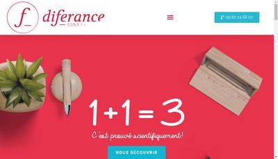 Site internet de Diferance