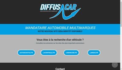 Site internet de Diffuscar SARL