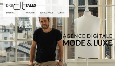 Site internet de Digi-Tales