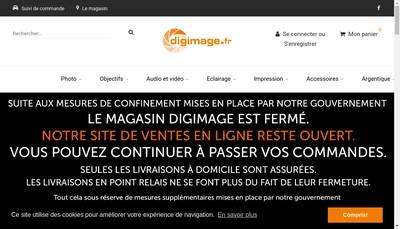 Site internet de Digimage