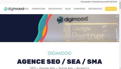 Site internet de Digimood