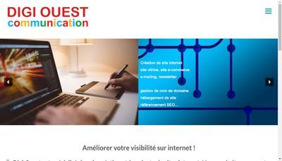 Site internet de Digi Ouest