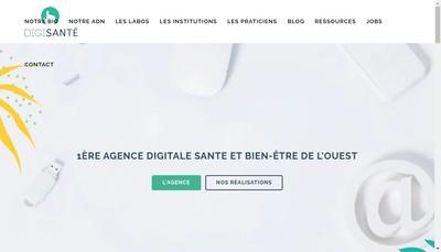 Site internet de Digisante