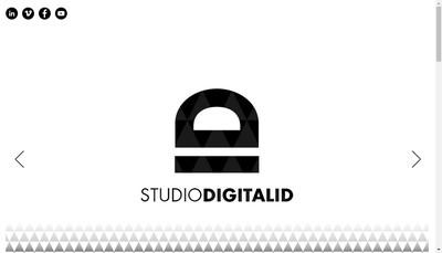 Site internet de Studio Digitalid