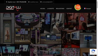 Site internet de Digitalli