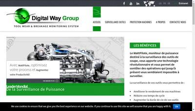 Site internet de Digital Way Group
