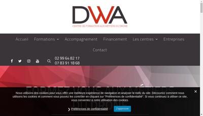 Site internet de Digital Works Aircraft