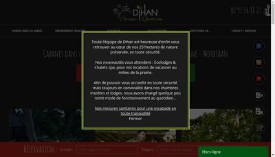 Site internet de Dihan