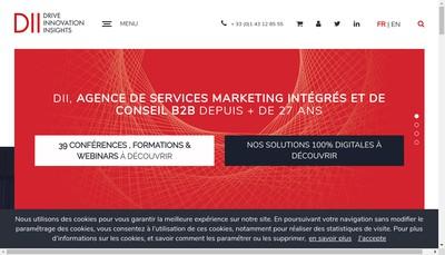 Site internet de DII