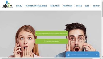 Site internet de Dijinov