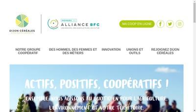 Site internet de Union des Coop Agricoles Val Union