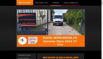 Site internet de Dijon-Serrurerie Fr