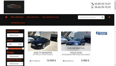 Site internet de Dijon Occas 21