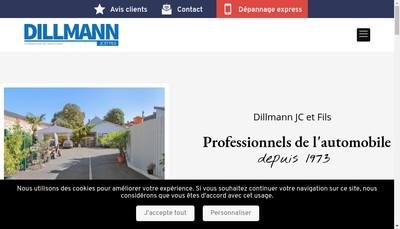 Site internet de Jc Dillmann & Fils