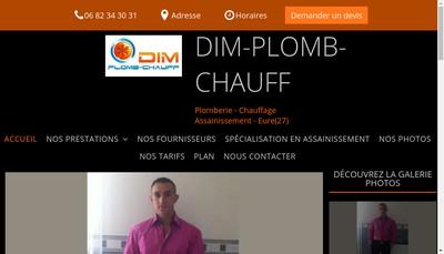 Site internet de Dim Plomb-Chauff