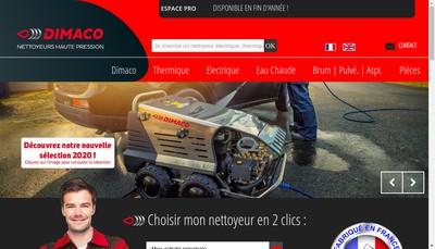 Site internet de Dimaco