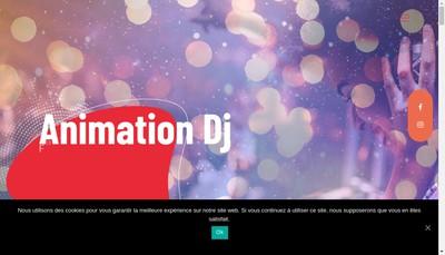 Site internet de Dimension'Dj Colmar