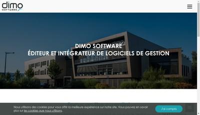 Site internet de DIMO Software