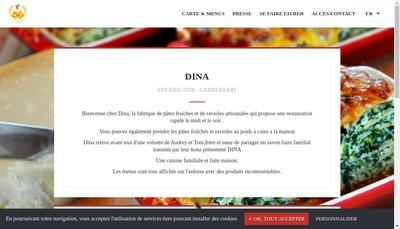 Site internet de Dina