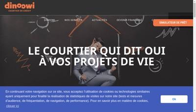 Site internet de Dinoowi