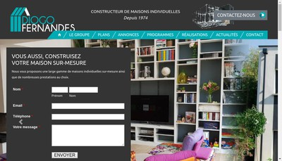 Site internet de Groupe Diogo Fernandes