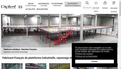 Site internet de Diplex