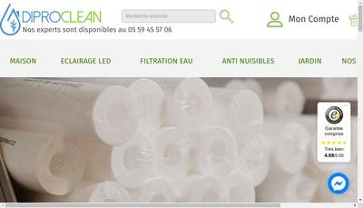 Site internet de Diproclean