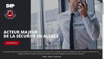 Site internet de Dip Sécurité
