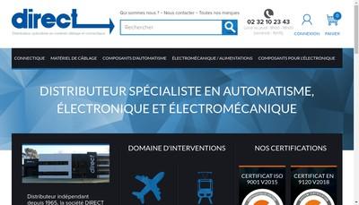 Site internet de Diffusion Repres Commerc Techn