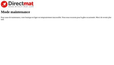 Site internet de Direct Mat