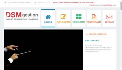 Site internet de Dsm-Gestion