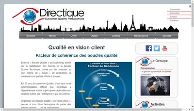 Site internet de Directique