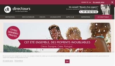 Site internet de Directours