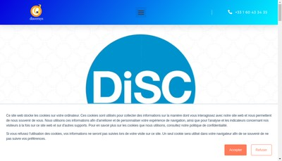 Site internet de Discernys