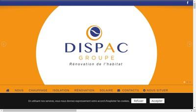 Site internet de Dispac