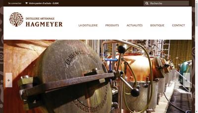 Site internet de Distillerie Artisanale Hagmeyer