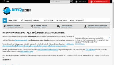 Site internet de Ditexpro