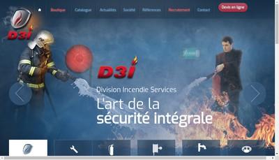 Site internet de Division Incendie de l'Est