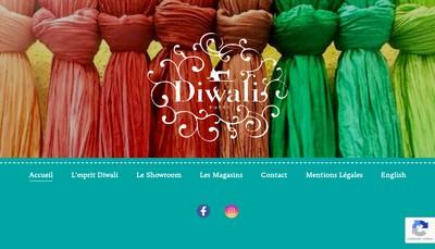 Site internet de Diwali Paris