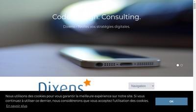 Site internet de Dixens
