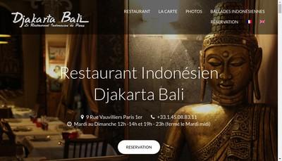 Site internet de Djakarta