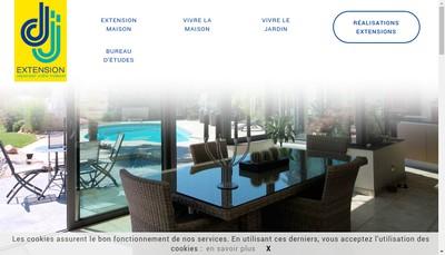 Site internet de Dj Extension