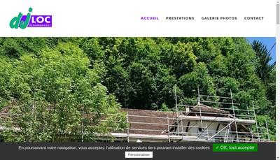 Site internet de Dj Loc