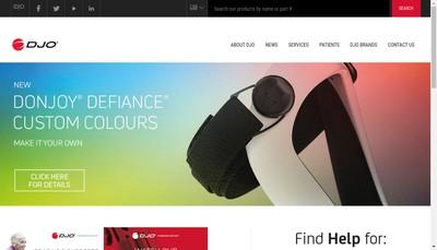 Site internet de Djo France