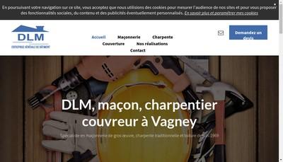 Site internet de DLM