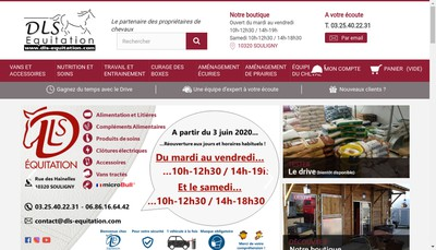 Site internet de Dls Remorques