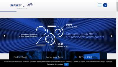 Site internet de DLV